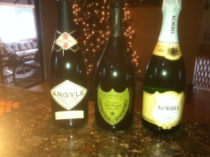Champagne and Sparkling's from my cellar