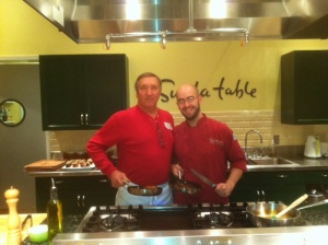 """Student Gary & Chef Ben Witten"