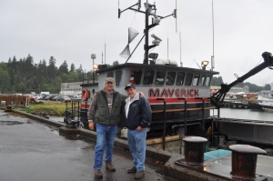 "Who knows what celebrities you will meet in Astoria, like ""Captain Rick"" of the Maverick, ""Deadliest Catch"" (and me of course)"