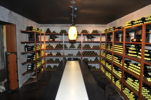 Wine Cellar/Tasting Room (private) @ Abacela Winery
