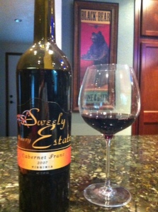 Sweely Estate 2007 Cab