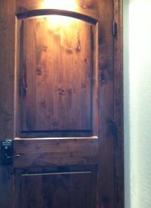 Wine Cellar Door and Lock