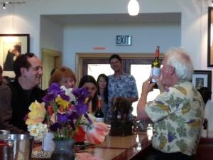 Marsh Anne Landing Winery Barrel Tour 2013