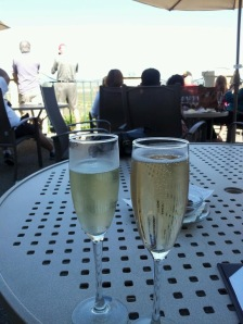 Tasting bubbly at Gloria Ferrer Champagne Cellars