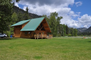 Our Log Home on the Rock Creek, MT