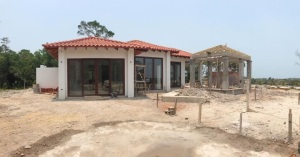 Home being built at Sanctuary