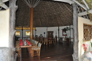 Breakfast room at Kanantik