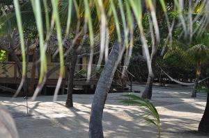 "Our ""Hut"" home for four days at Kanantik Resort"