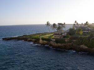 Golfing in warm ocean breezes is so very refreshing