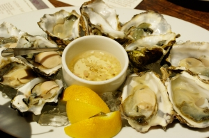 Surprisingly how filling and tasty fresh oysters can be.