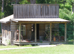 "Could this be the ""Moonshine Shack"" in the mountains, creating ""hooch""?"