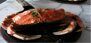 There's nothing quite like cracking open one of these beauties and dipping fresh crab in a cup of steaming hot butter!